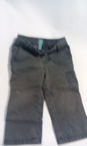 pantalon gap niño color gris