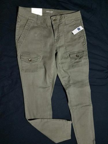 pantalón gap original nuevo para mujer talla 8