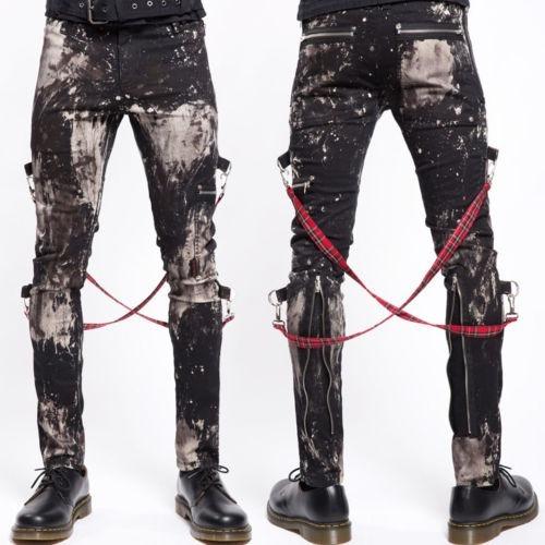 pantalon gotico vampire freaks - tripp bleach chaos mens pan