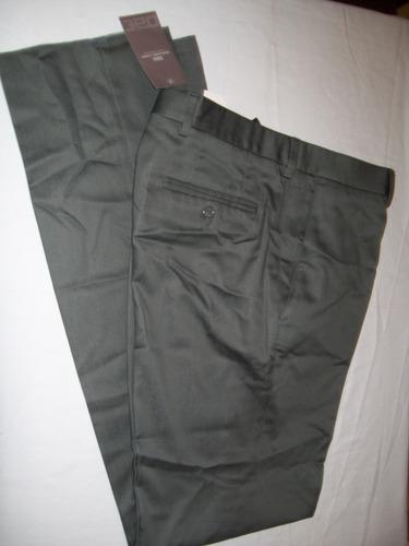 pantalón gris de vestir de hombre oscar alvarez talle 42
