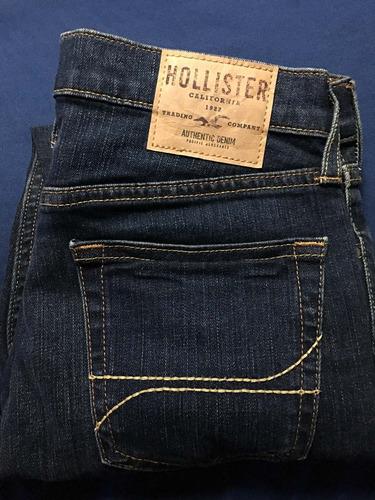 Pantalon Hollister Super Skinny Talla 30 X 30 Original 100 ...