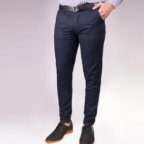 Pantalon Chupin De Equipos Pantalones Vestir Hombre