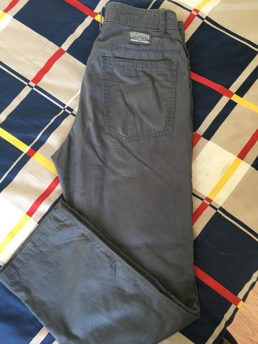 pantalon hombre gris columbia (30-32)
