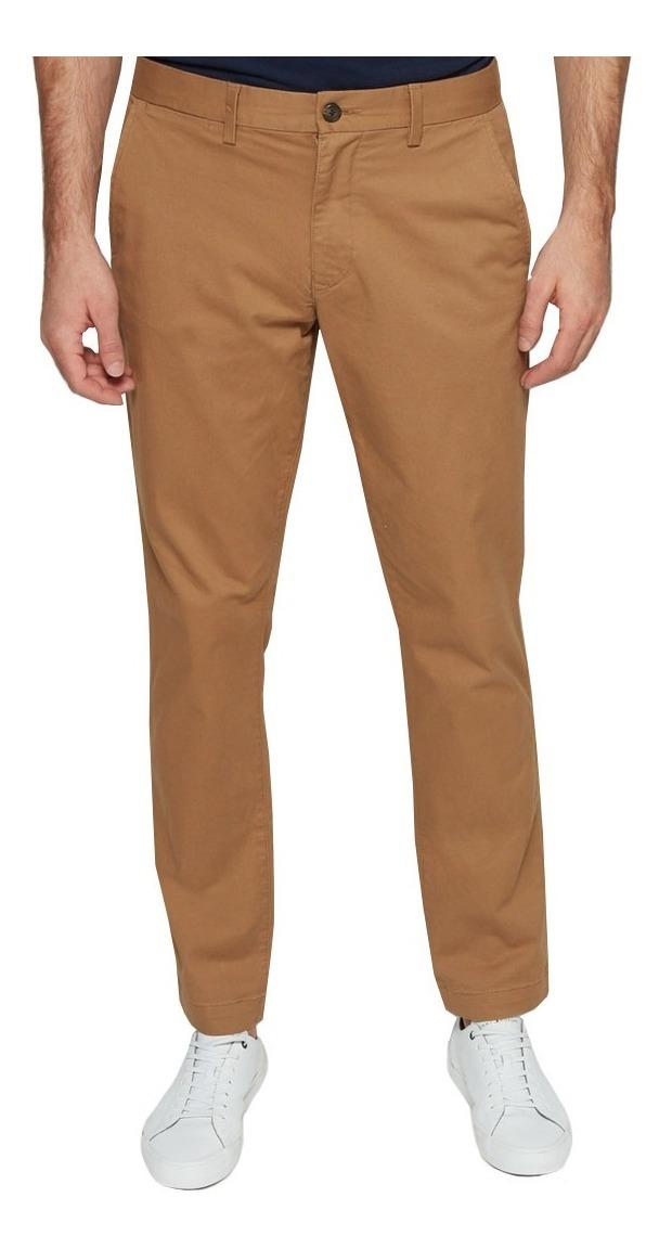 1c3573bf55f0 Stretch Gap Slim Algodón Hombre Pantalon Corte 644888 Khaki PNOXwZ8n0k