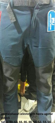 pantalon hombre softshell impermeable