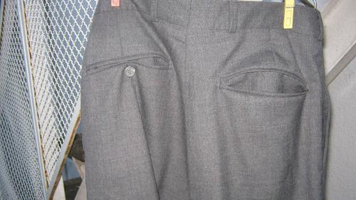 pantalón hombre talle 44 ó adolescente pura lana virgen