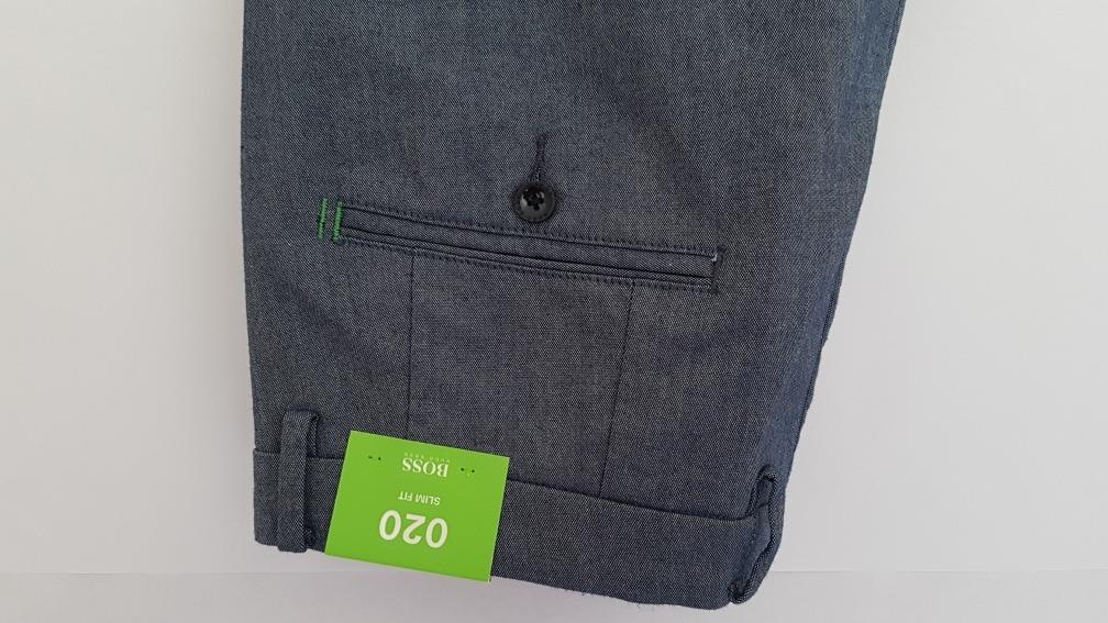 2fb92421885 Pantalón Sport Hugo Boss Azul Resorte En Tobillo Slim Fit 36 ...
