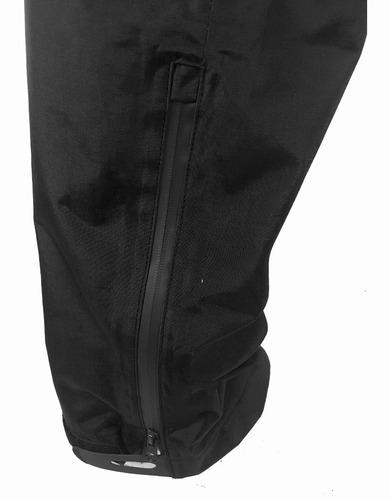 pantalon impermeable cotopaxi modelo quilimas t.42 negro q5