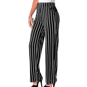 talla 40 bd0e6 80681 Pantalon Tipo Vestir Rayado - Pantalones y Jeans de Mujer ...