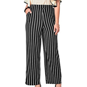 Pantalon Inc 43659te Color Negro blanco Dama Pv