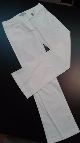 pantalón jazmin chebar recto con bordado- excelente estado!!