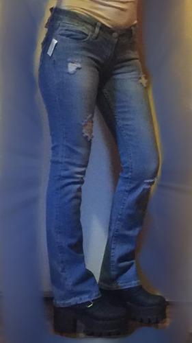 pantalón jean aeropostale elastizado oxford mayor y menor