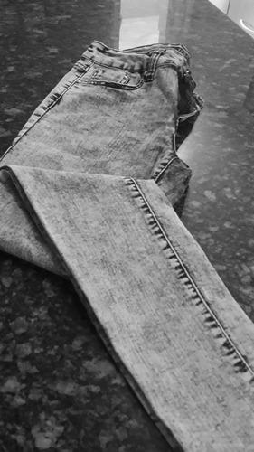 pantalon jean alto americano