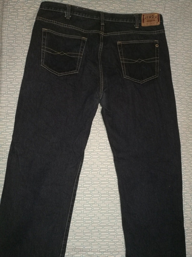 pantalón jean de caballero marca jingo talla 42 casi nuevo!!