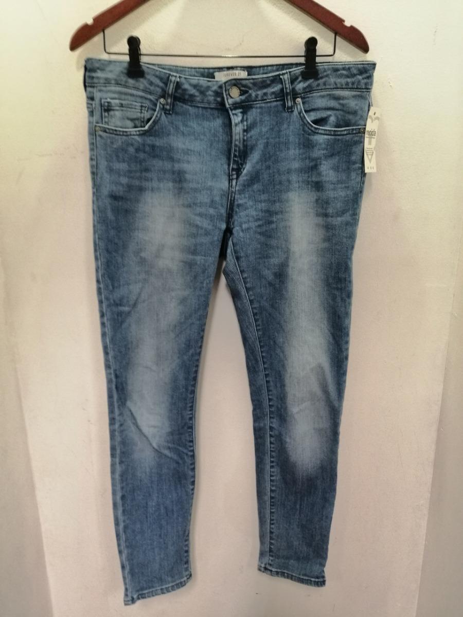 Pantalon Jean De Mujer Forever 21 Talle L 61727 590 00 En Mercado Libre