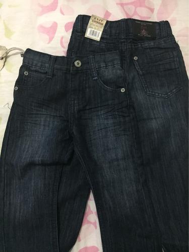 pantalón jean de niño  talla 1 y  2