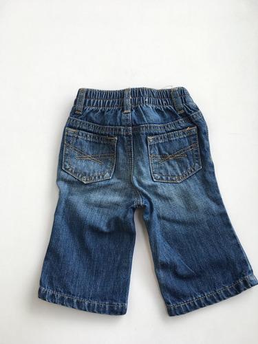 pantalon jean gap - beba - 3 a 6 meses