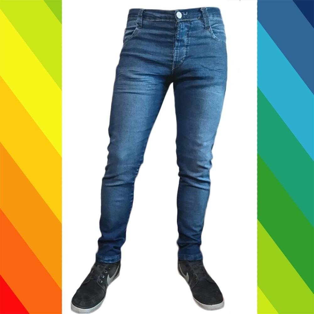 e9d5f44b93bd4 pantalon jean hombre chupin elastizado. Cargando zoom.