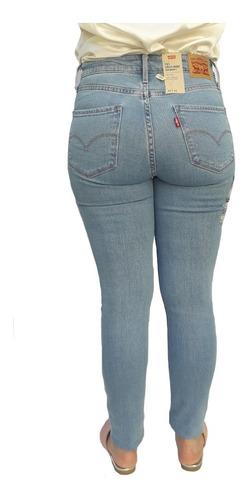pantalón jean levis 721 high rise skinny dama mujer