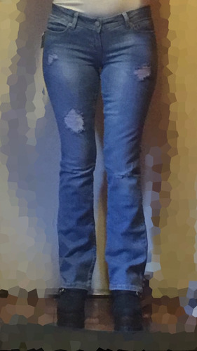 pantalón jean oxford
