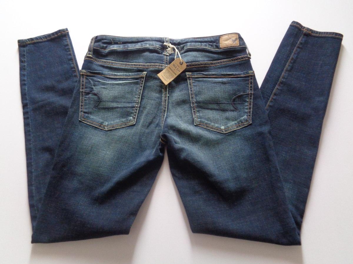 Pantalón Jean Para Mujer American Eagle. Tallas 4 Y 6 - U ...