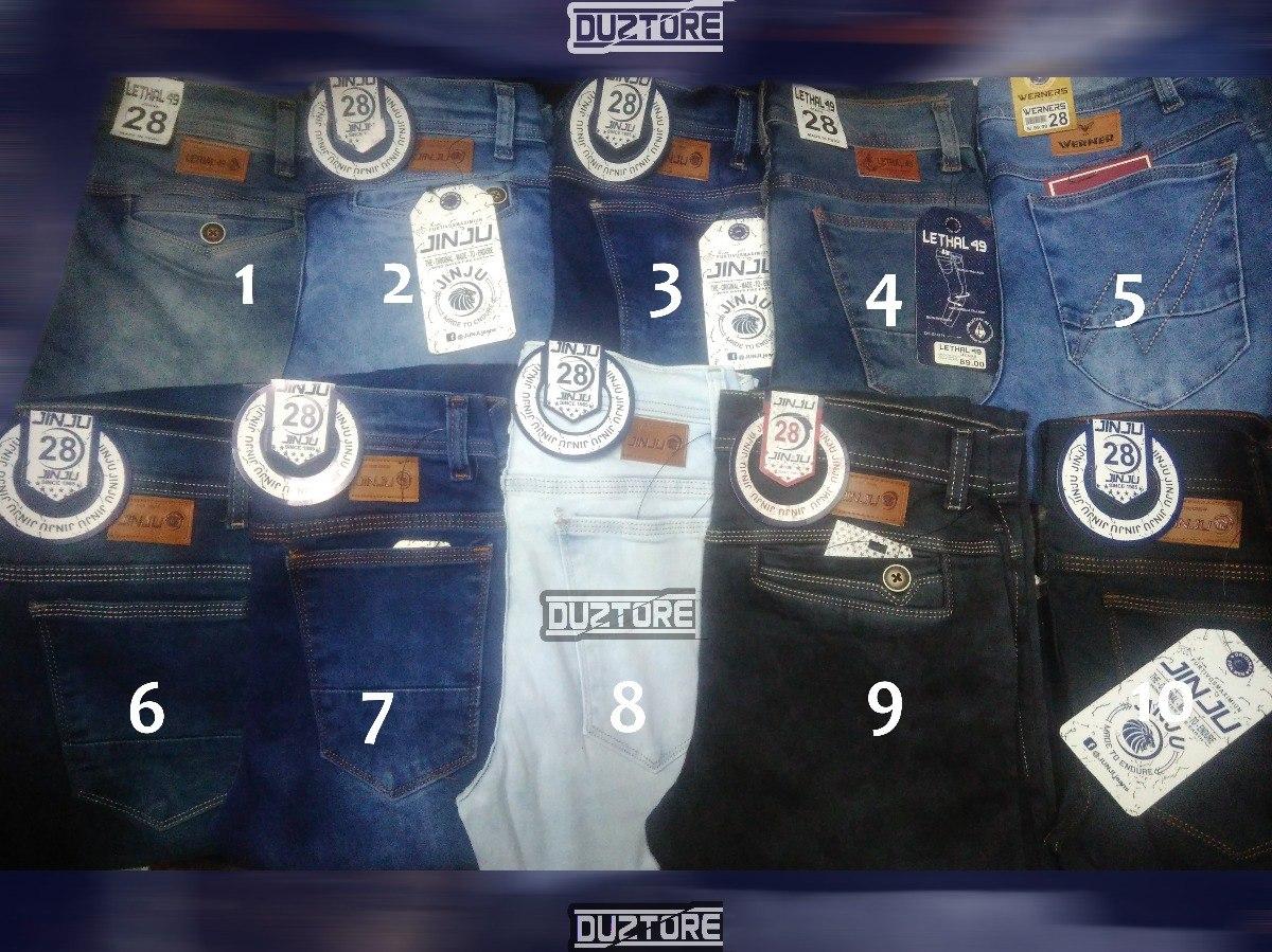 a7b8f53e444d1 pantalon jean pitillo strech clasico moda urbana para hombre. Cargando zoom.
