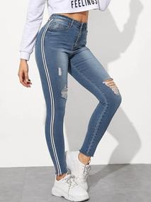 Jeans Para Dama Moda Pantalones Y Jeans Para Mujer Jean Tiro Alto En Mercado Libre Mexico