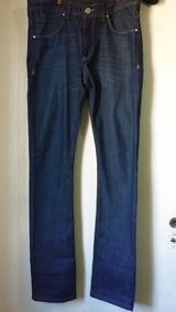 Outlet Pantalon Jean Zara Man Chupin Skinny T 44, Nuevo