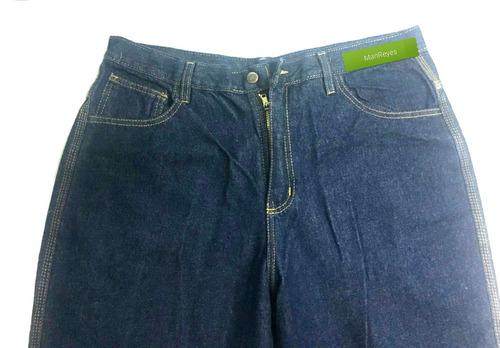 pantalon jeans 3 triple costura industriales. somos fabrica