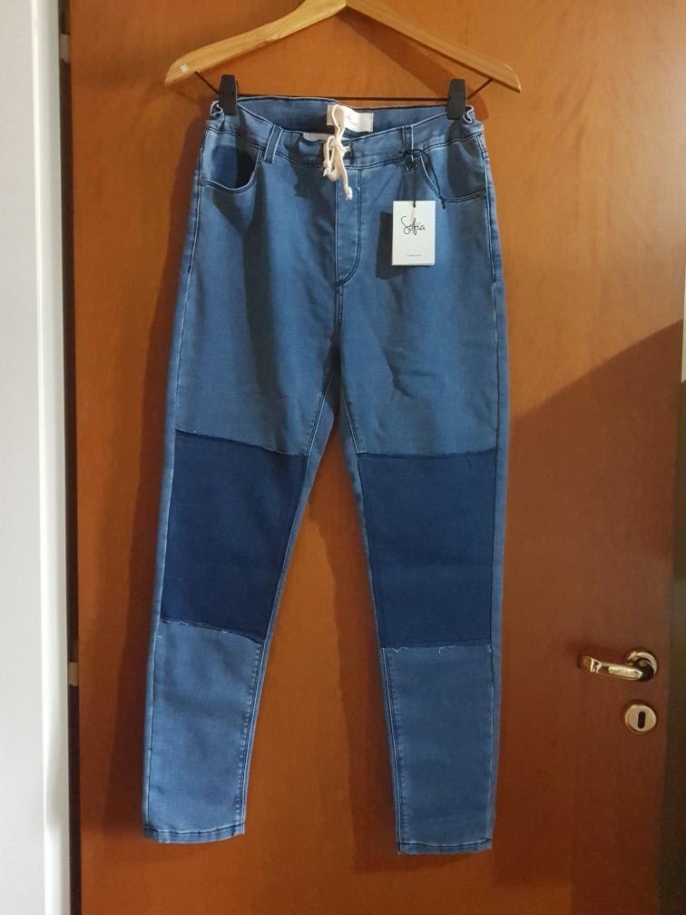 pantalon jeans babucha sofia sarkany. Cargando zoom. 97c86a27d5c9