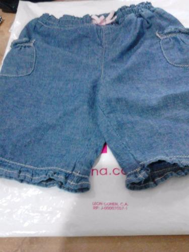 pantalon jeans bebe niña