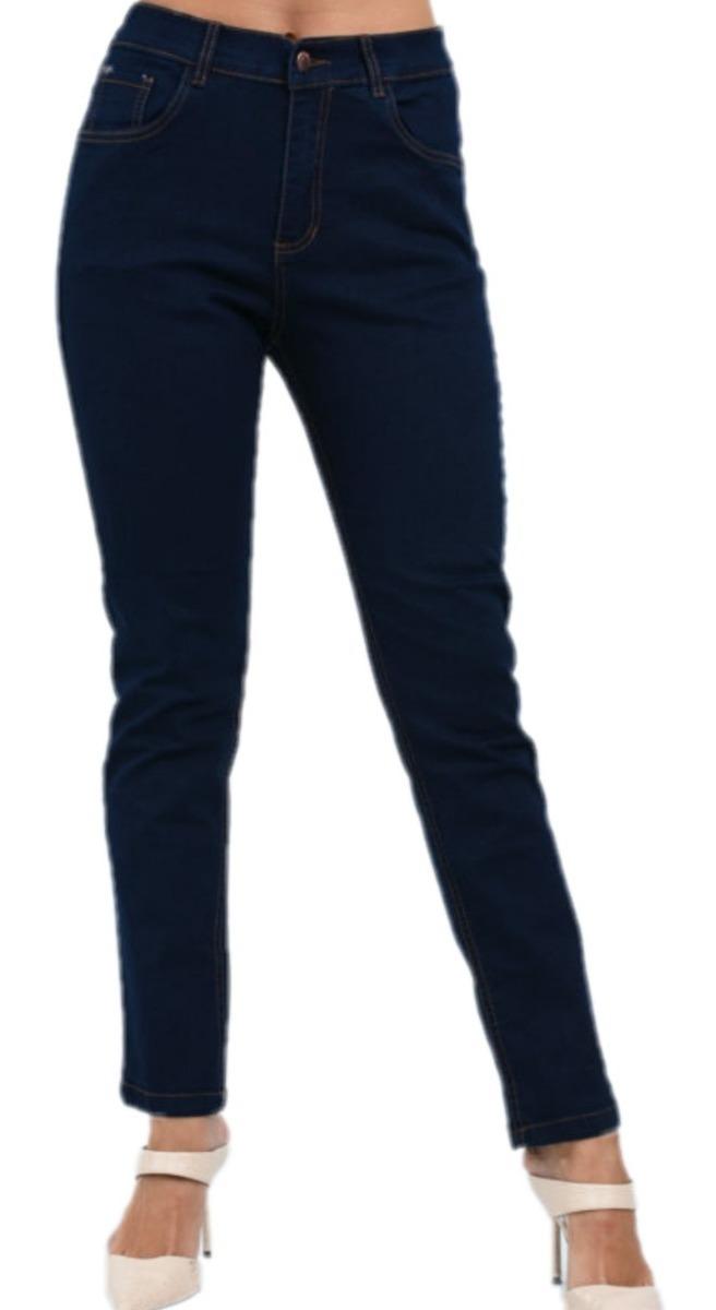 Jivana Indumentaria Pantalon Jeans Elastizados Mujer Talles Grandes Chupin 2 790 00
