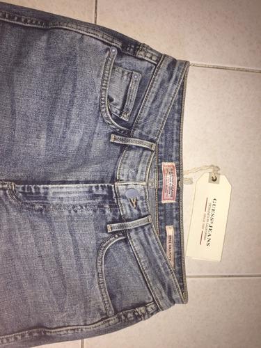 pantalón jeans guess (skinny, 100% original y nuevo)