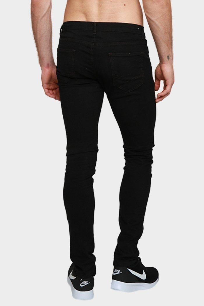 Pantalon Jeans Hombre Caballero Mezclilla Roto Rasgado ...