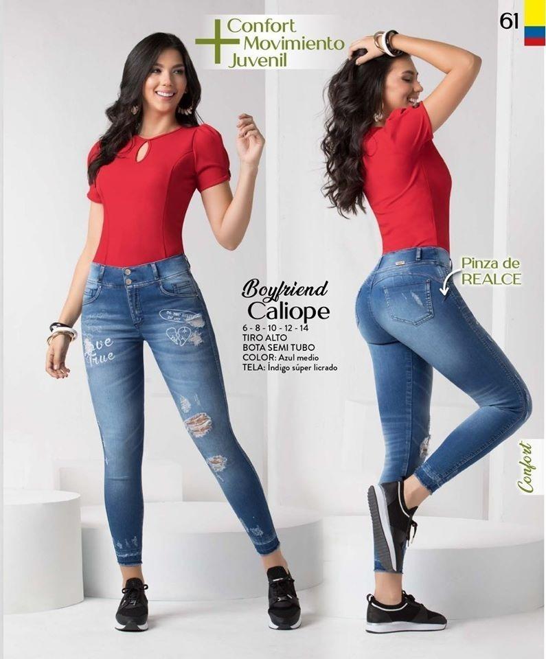 Para Mujer Skinny Jeans Damas Jeans Denim Azul Indigo Slim Fit Tallas 6 8 10 12 14 Control Ar Com Ar