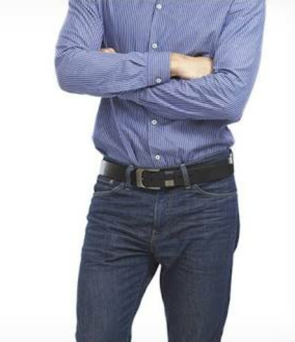 038fa5eb7e8 Pantalon Jeans Mezclilla Para Hombre (corte Slim Fit) -   365.00 en ...