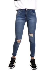9adf4a66 Pantalones Rotos Mujer Emo Negros - Pantalones, Jeans y Joggings ...