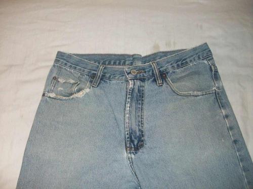 pantalon jeans oferta lunes remate total   a la moda 32-30