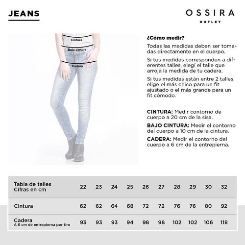 pantalón jeans ossira
