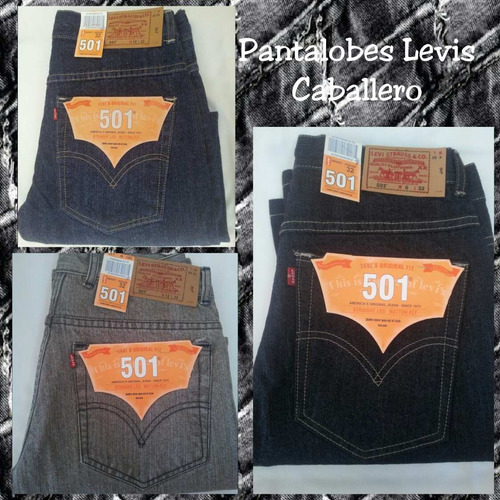 pantalon jeans para caballeros marca levis, tommys y ke
