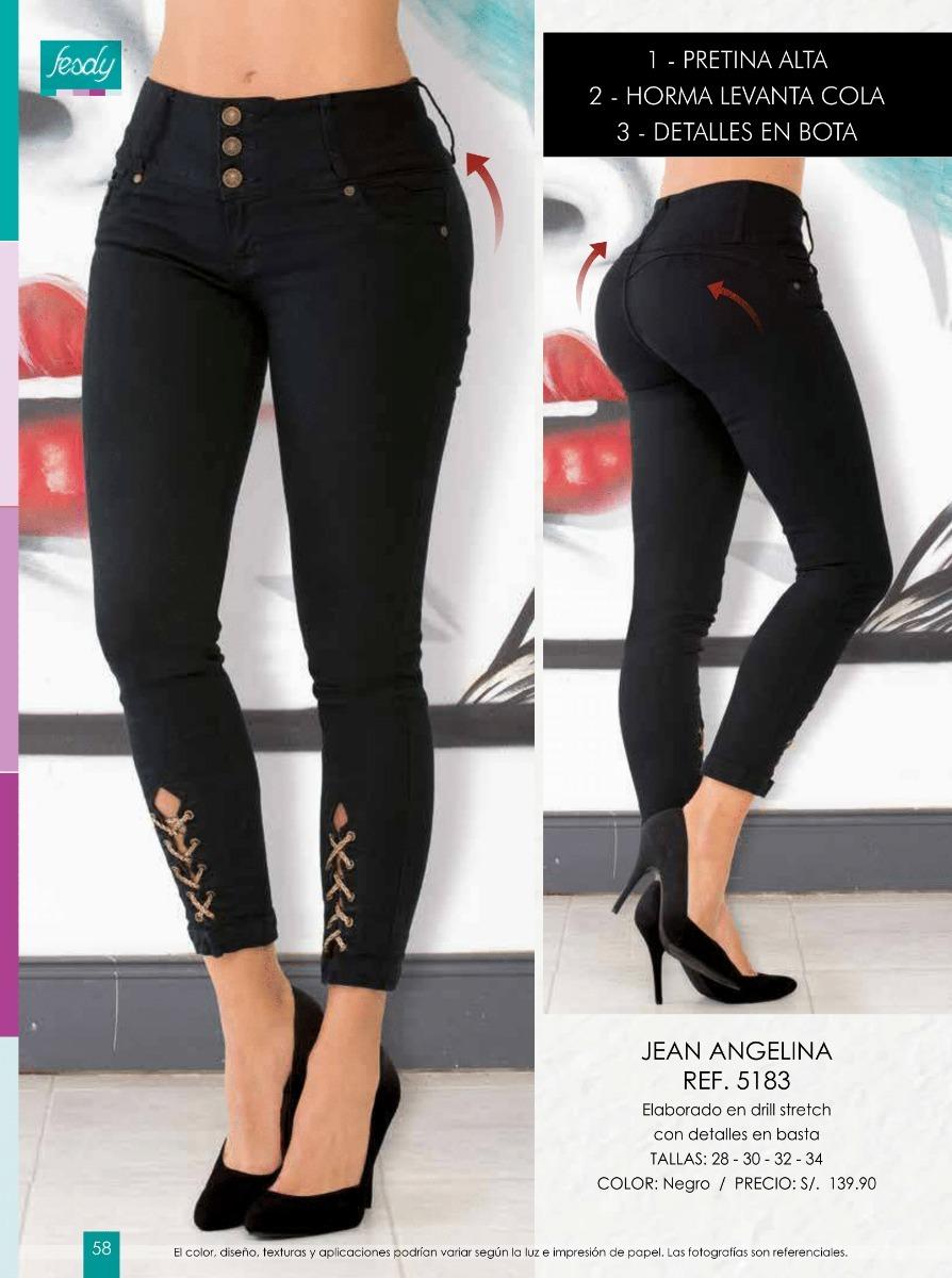 55dfa5bdc7ea Pantalon Leggins Jeans Catalogo Fesdy Ropa De Moda Mujer