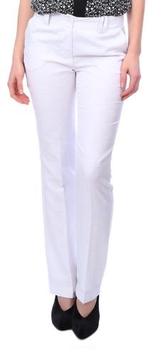 pantalon jeans vestir amori blanco playero lino verano c215
