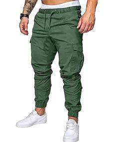 comprar online 873a2 dde29 Pantalon Jogger Cargo Chupin Casual Moda 2019