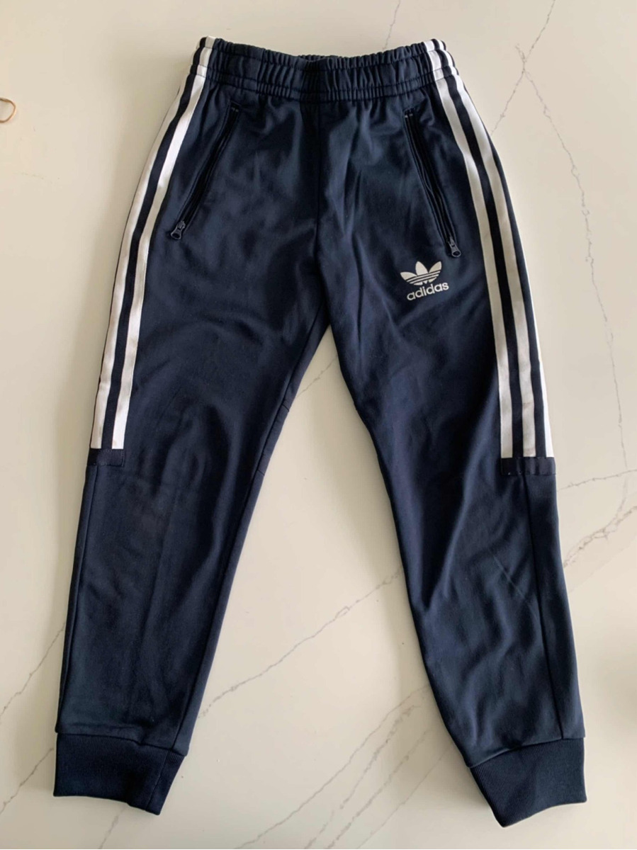 Deportivo Marca Niño 7950 Azultalle Joggins De 00 Pantalón Adidas ikZuTOPX
