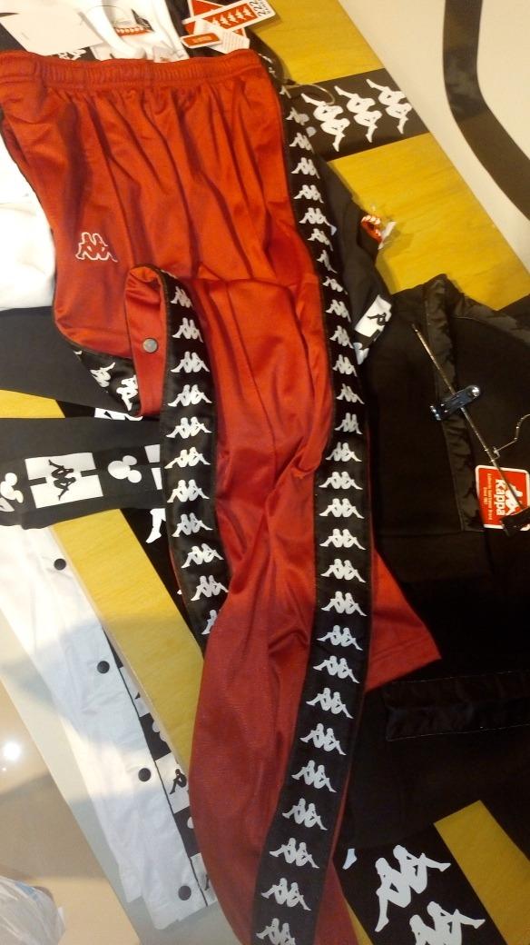 222 Band Oxford Botones Pantalon Mujer Con Kappa b6fgm7vyIY
