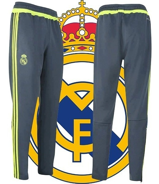 Largo Chupin Talle S Real Madrid Adidas Original Pantalon 1TlKcFJ