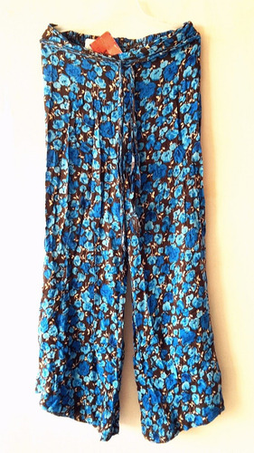 pantalon largo hindu playero casual dama textil calidad