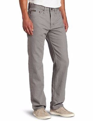 pantalon lee talle 33x32 nuevo color battleship(gris)importa