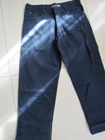 1d8d6a76b9 Pantalón Legacy En Gabardina Azul Talle 18