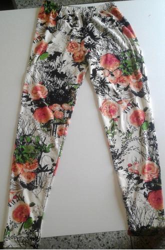 pantalón legging dama stretch piel durazno talla l